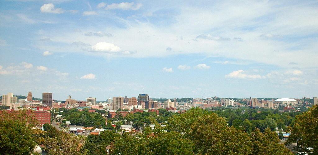Photo of Syracuse skyline