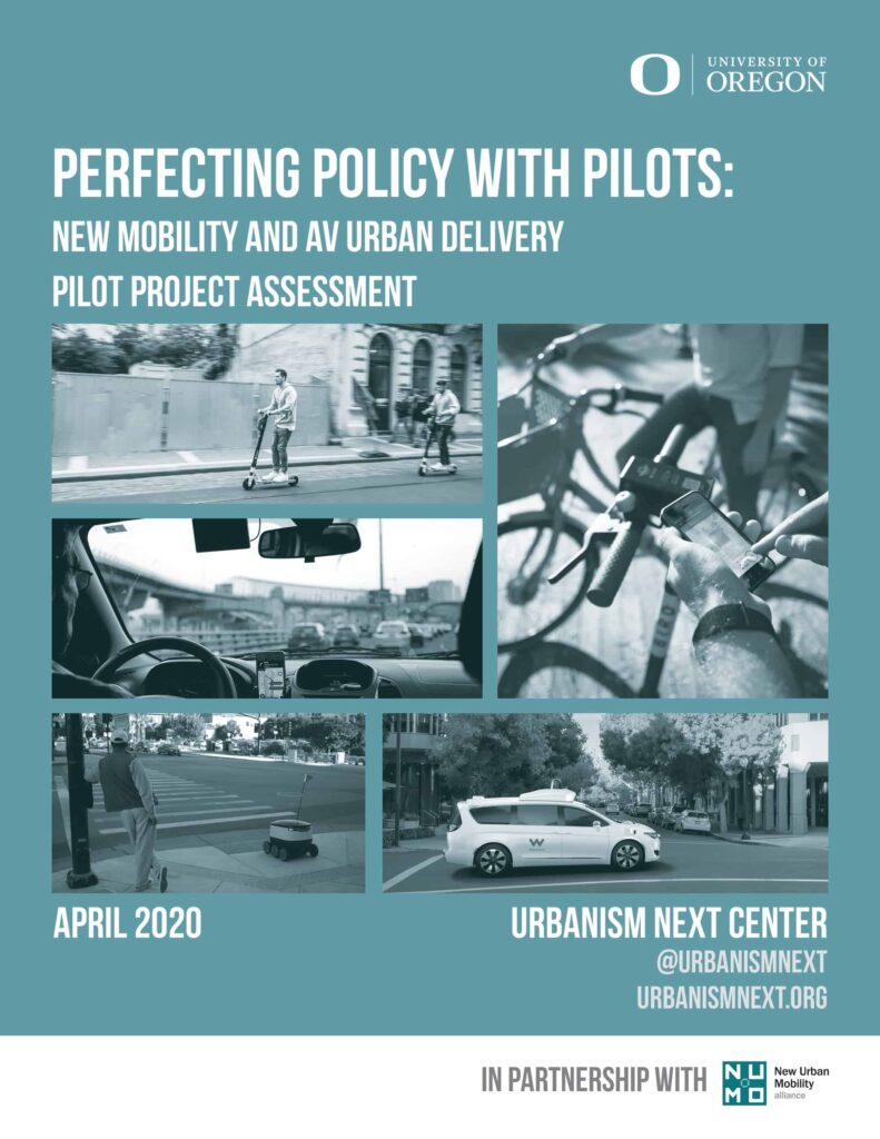 Cover of UNext Report: Perfecting Policy with Pilots, 2020
