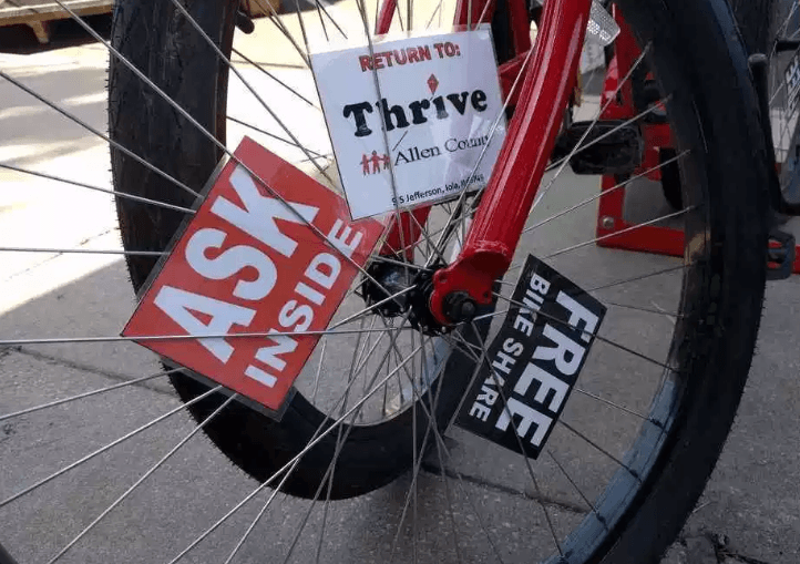 Allen County bikeshare bike