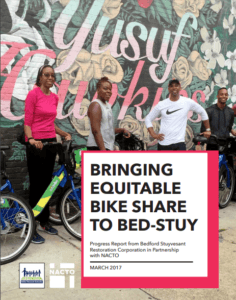 BedStuy NACTO Report Cover