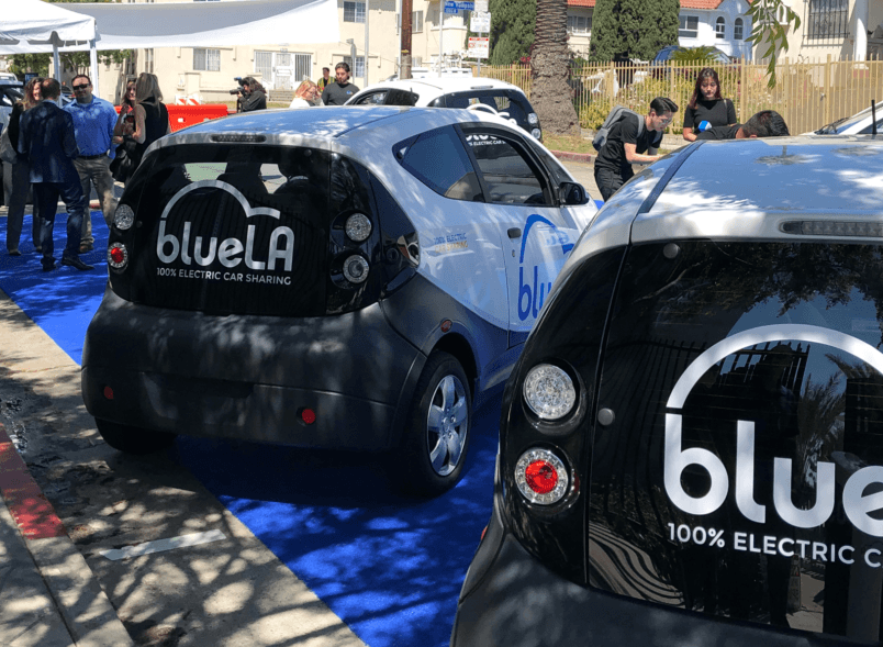 Blue LA Launch