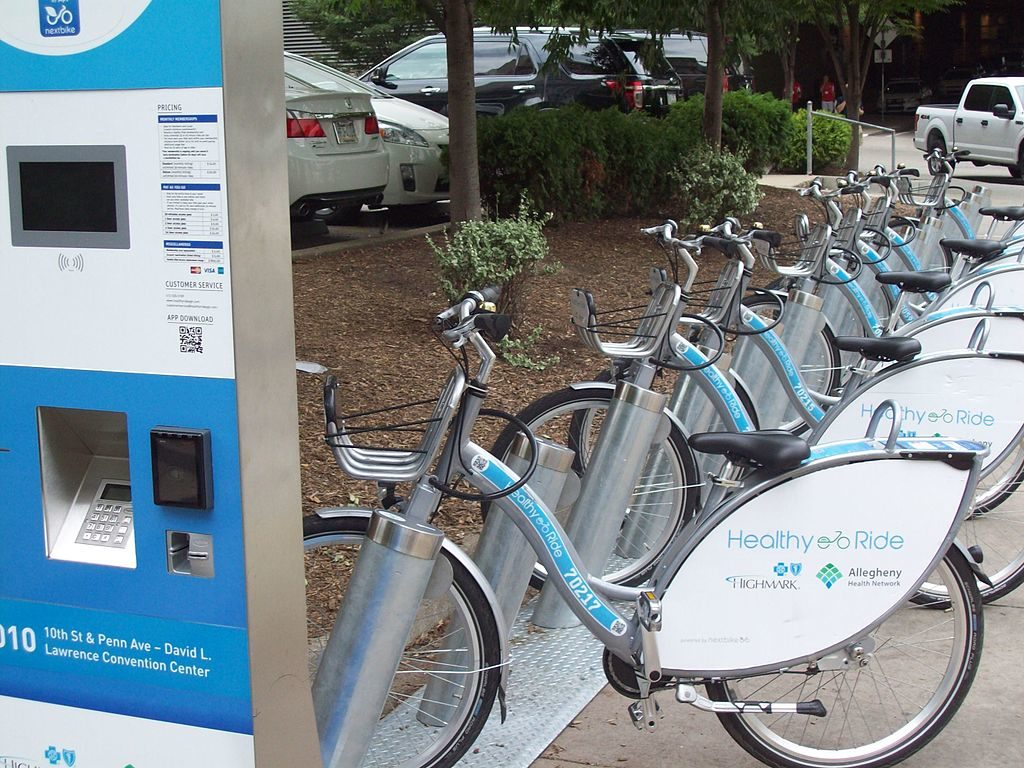 Photo of Healthy Ride Station and Bikes