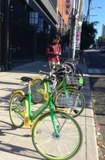Dockless Lime Bikes