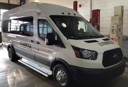 Photo of MATA Microtransit Van