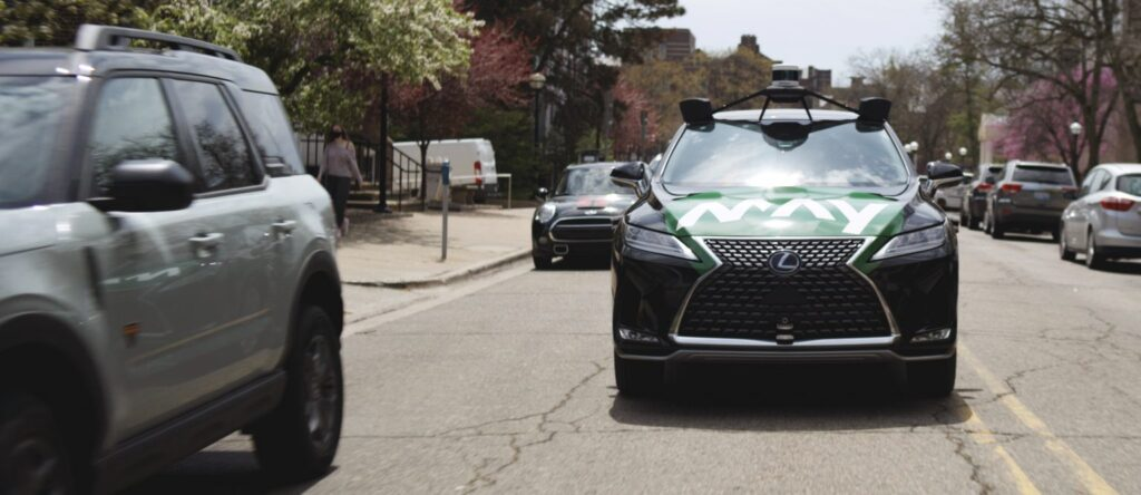 Photo of May Mobility Lexus Autonomous Vehicle