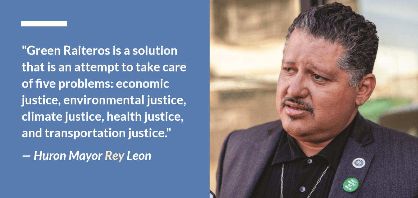 Huron Mayor Rey Leon quote