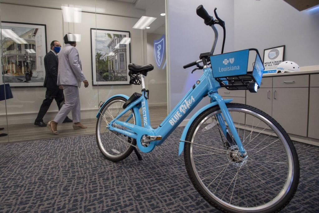 Image of New Orleans Blue Bike