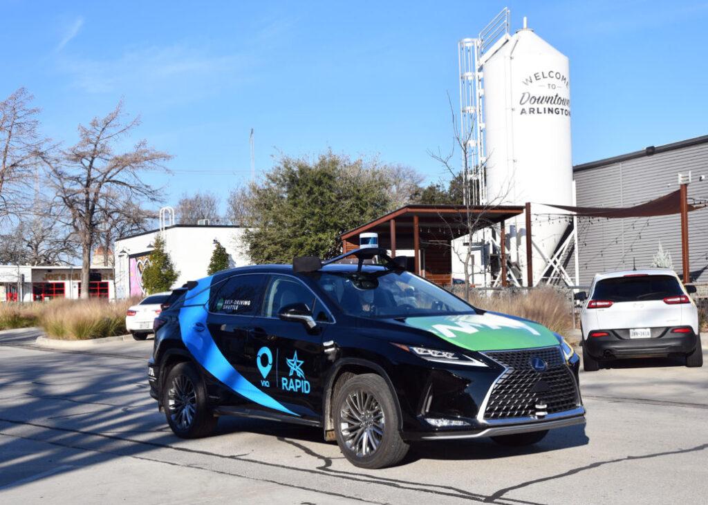 Photo of Arlington RAPID vehicle