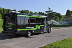SW Prime microtransit van