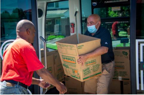 Linden LEAP Food Delivery Program