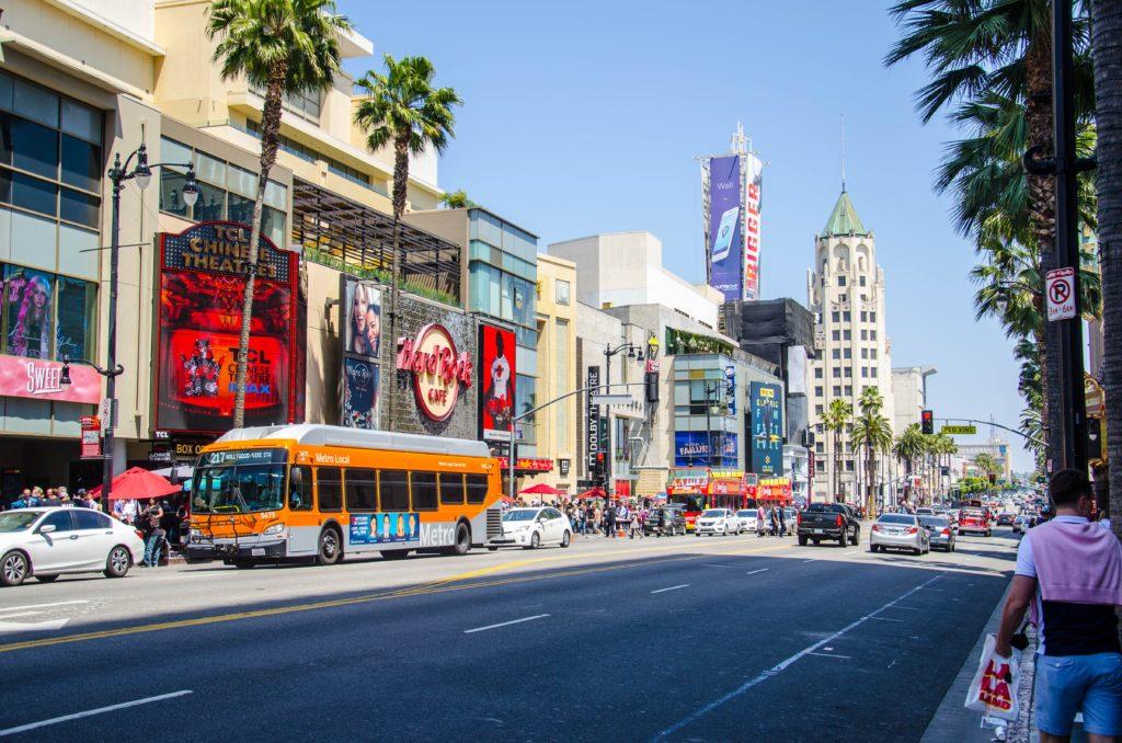 Los Angeles streetscene