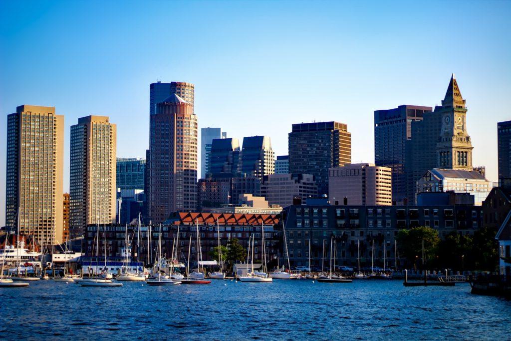 Photo Boston Skyline