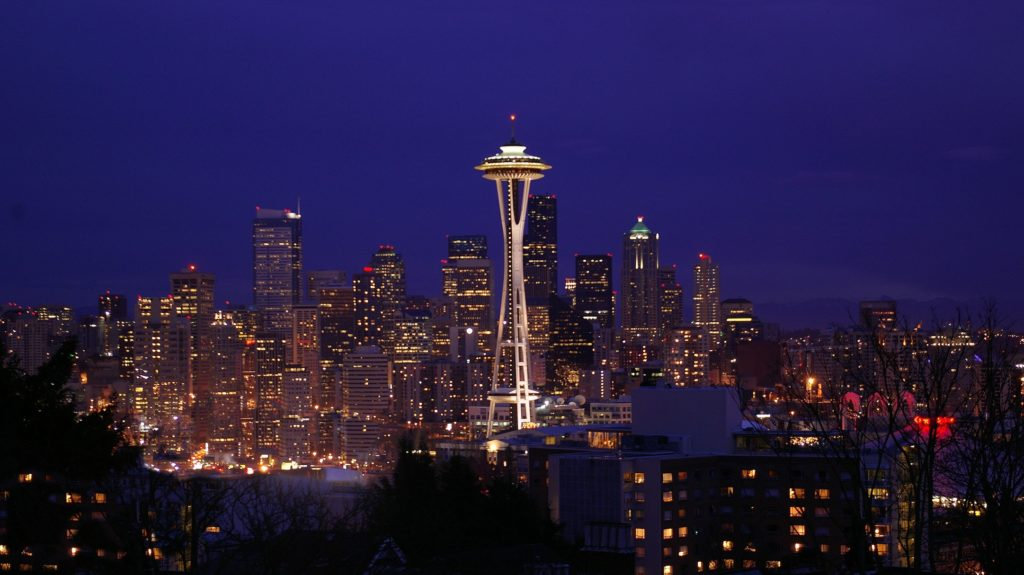 Photo of Seattle skyline