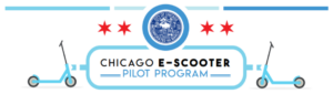 Chicago E-Scooter Pilot Program logo