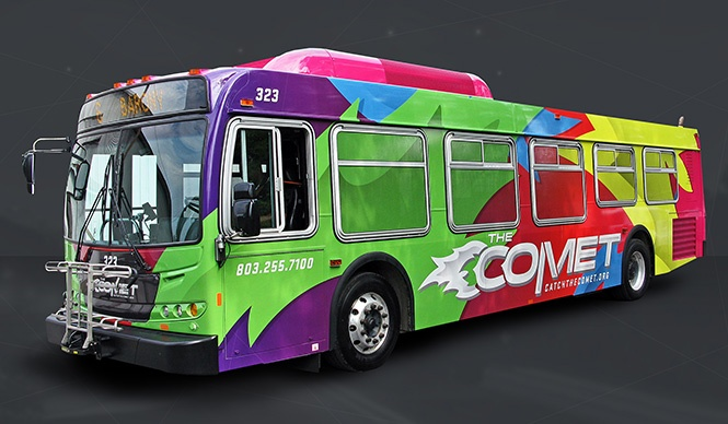 Photo of The Comet bus