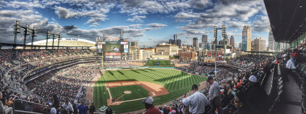 Detroit Tigers Stadium