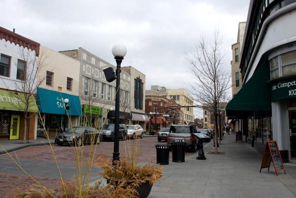 Marion street mall