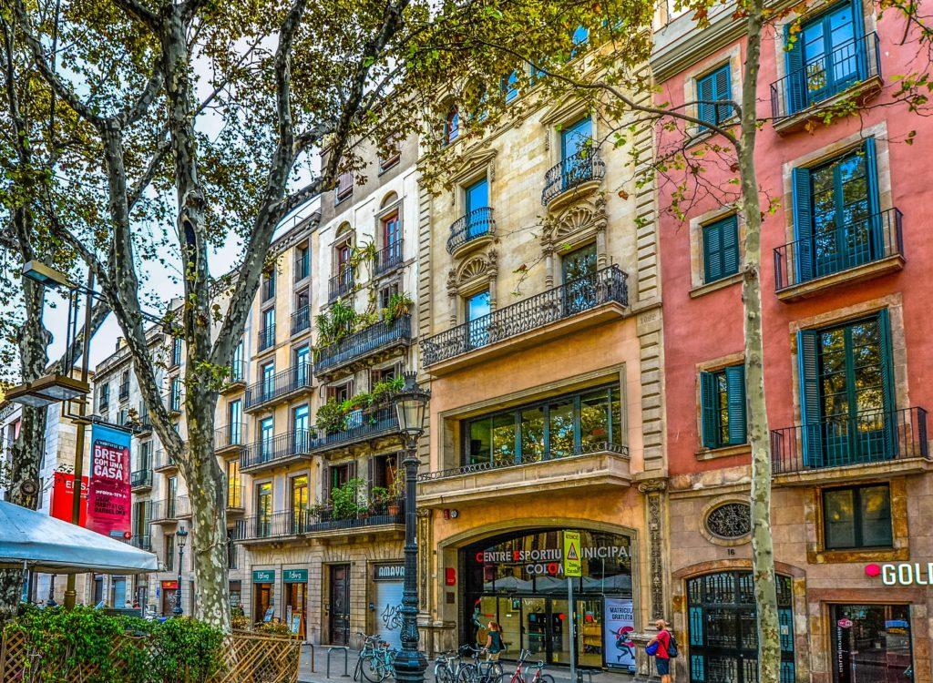 Milan, Italy Streetscape