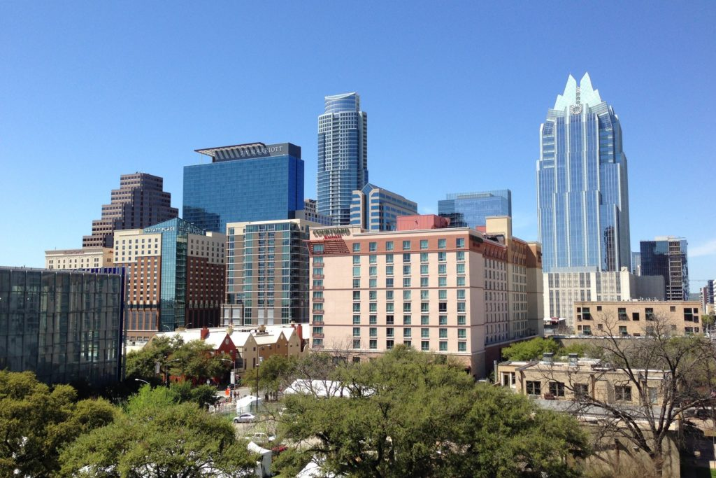 Photo of Austin Skyline