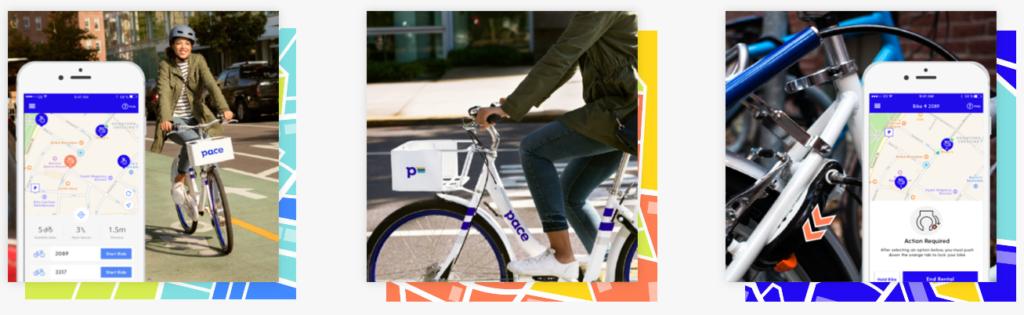 Ridepace Bikeshare Promo