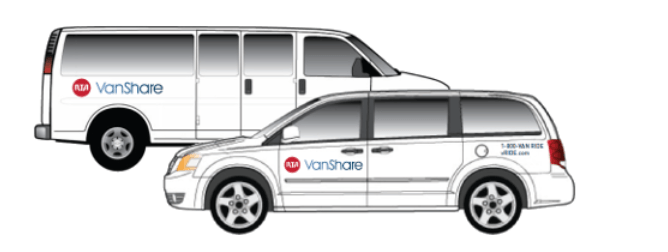 VanShare Fleet Vehicles