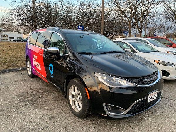 Photo of SMART Flex van