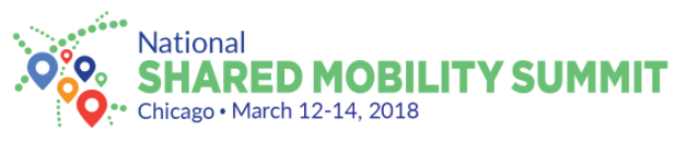 SUMC, Shared Mobility Summit 2018 Logo